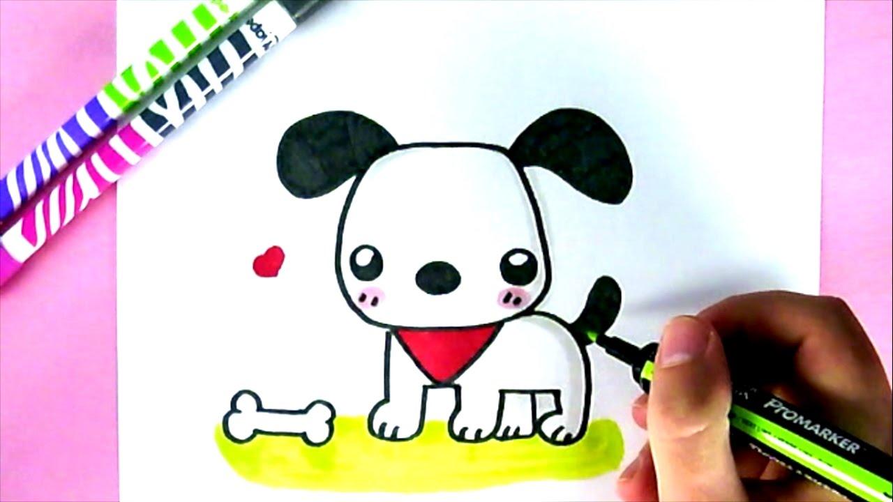 Wie Zeichnet Man Einen Hund Kawaii
