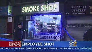 Employee Shot During Robbery In Bay Ridge