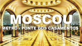 Metrô de Moscou, um tesouro subterrâneo - Moscou | Rússia