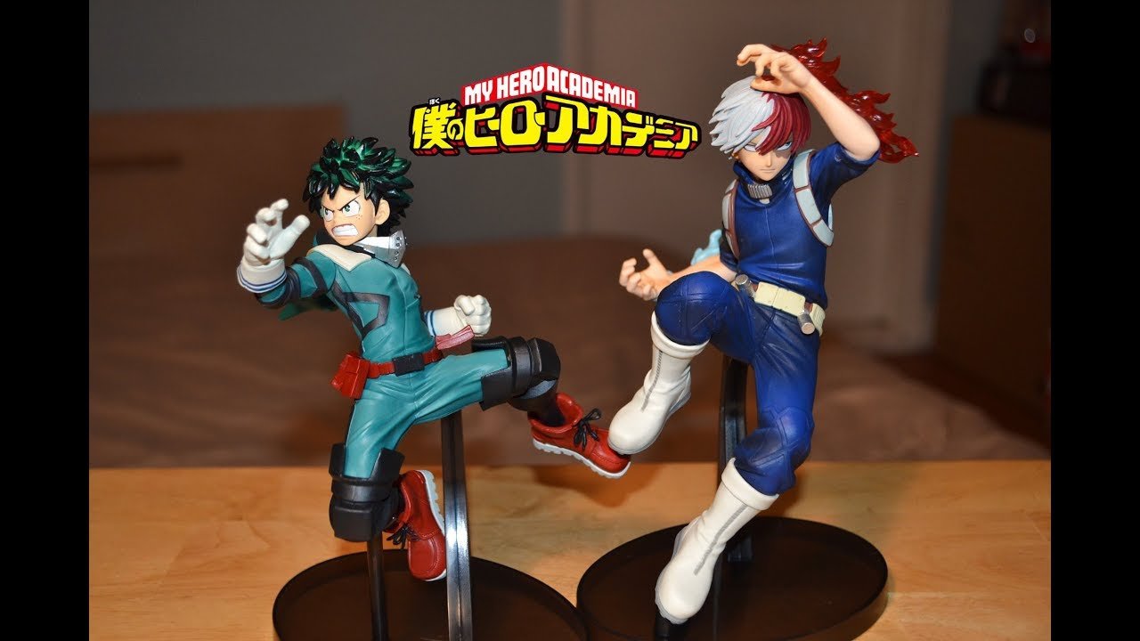 The Amazing Heroes 1 Izuku Midoriya Pvc Figure Banpresto MY HERO ACADEMIA