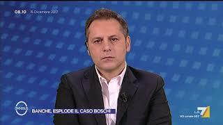 Omnibus - Banche, esplode il caso Boschi (Puntata 15/12/2017)