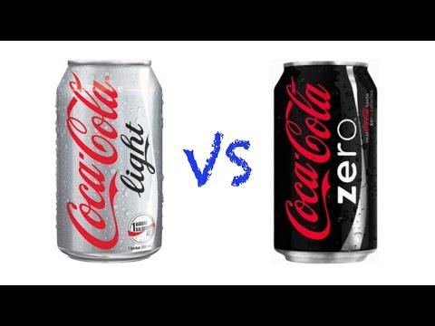 Coca-Cola light VS Coca-Cola ZERO