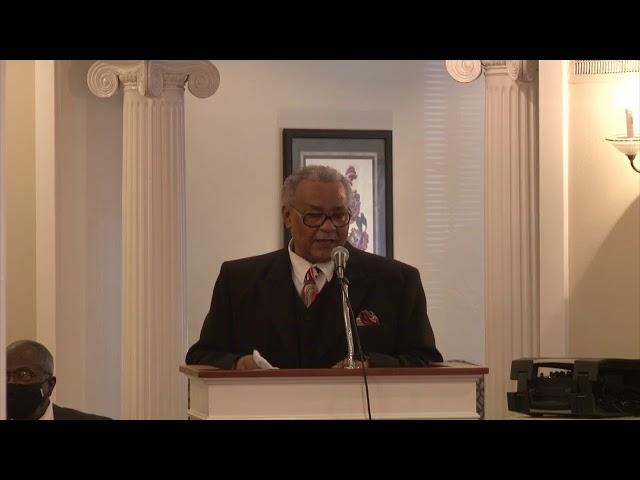 Funeral Services for Charles Andrew Jones, Sr.