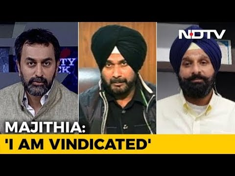 Punjab's Drug Politics: Navjot Sidhu vs Bikram Majithia streaming vf