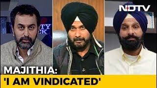 Punjab's Drug Politics: Navjot Sidhu vs Bikram Majithia