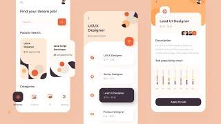 Best 20 Example UI/UX Design For Mobile App   UI/UX Animation Design