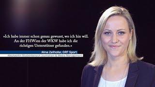 Journalismus studieren: AbsolventInnen erzählen ... mit Alina Zellhofer