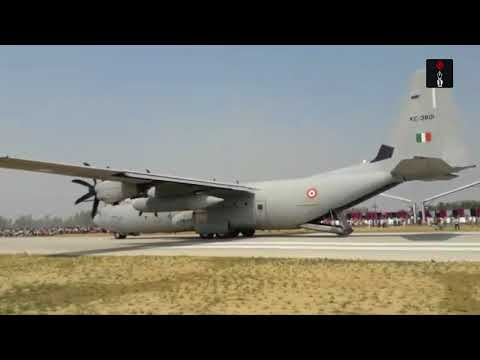 IAF Jets Carrying Out Emergency Landing Drill