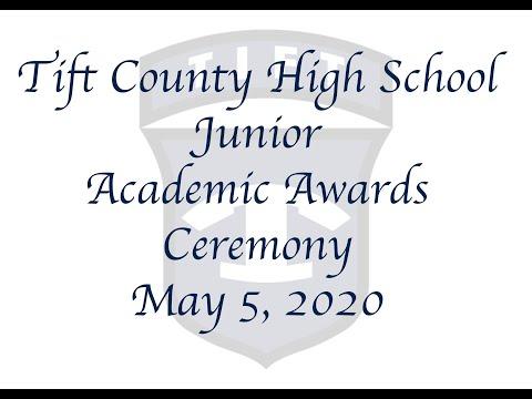2020 Tift County High School Junior Academic Awards Ceremony