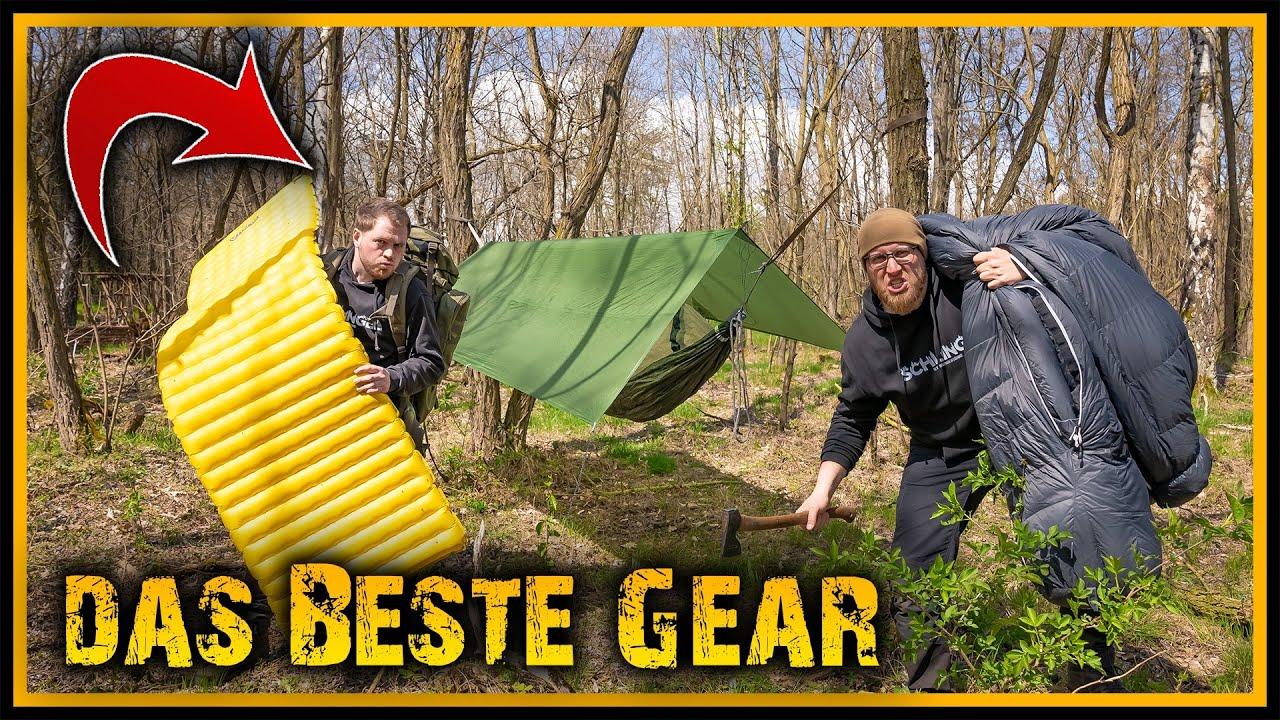 Unsere Lieblingsausrüstung - Top 10 Outdoor Gear - Bushcraft Glamping Deutschland