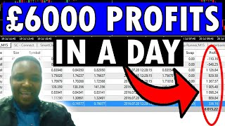 Forex trading 6000 pounds profit in a day