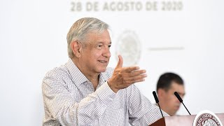 Federación respalda a Tamaulipas. Conferencia presidente AMLO