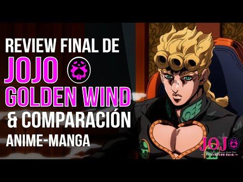ULTIMA REVIEW & COMPARACIÓN ANIME-MANGA DE JOJO GOLDEN WIND CAPITULOS 38 & 39
