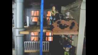 DREADNOK MANSION GI Joe Zartan Custom Diaroma Playset 2014