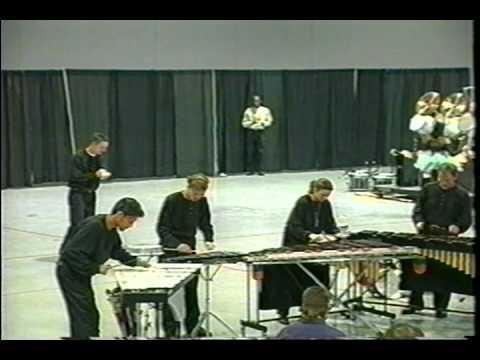 UCF Drumline Indoor show 1996 2