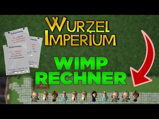 wurzelimperium wimp rechner