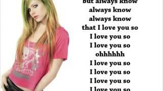Avril Lavigne   Goodbye With Lyrics   YouTube