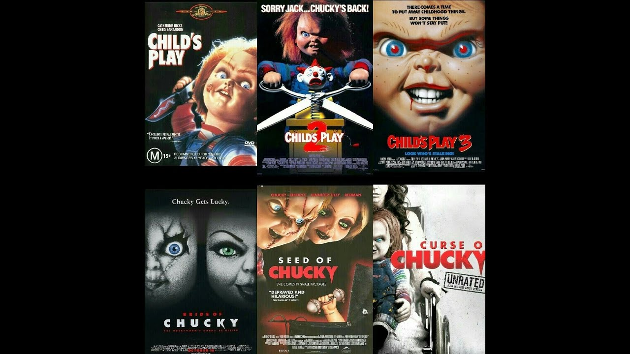 Download My Child's Play (Chucky) Blu-ray/DVD Collection