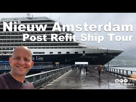Holland America Nieuw Amsterdam Ship Tour (Post refit)