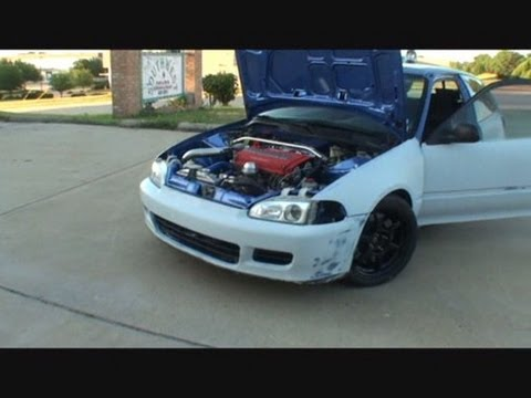 Honda Civic Hatchback >> Honda Civic si-Turbo Charged Hatchback-Gettin Ready For The BIG Paint Job! - YouTube