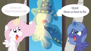 mlp comic dub the continuing adventures of parental starswirl flying lessons cutecomedy