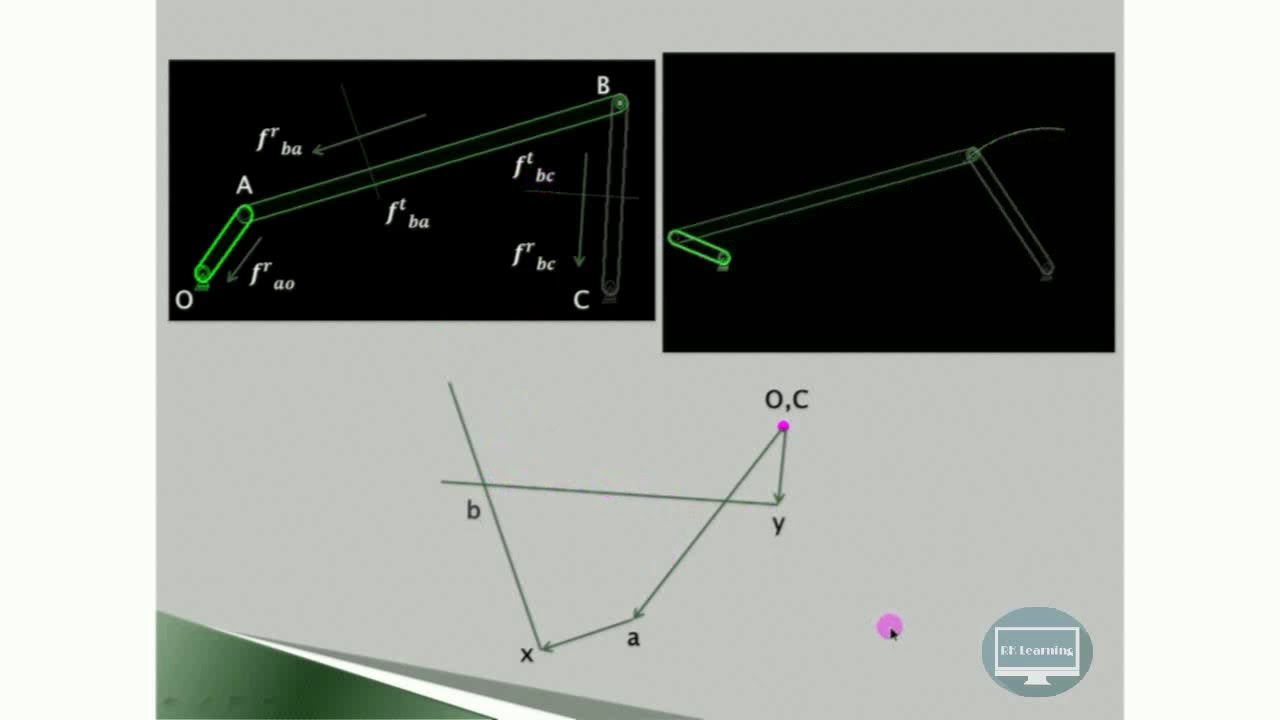 How to draw acceleration diagram using relative velocity method how to draw acceleration diagram using relative velocity method four bar mechanism rklearning ccuart Images