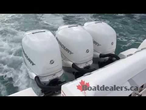 2015 Boston Whaler 37 Outrage with Mercury 350 triple Engines