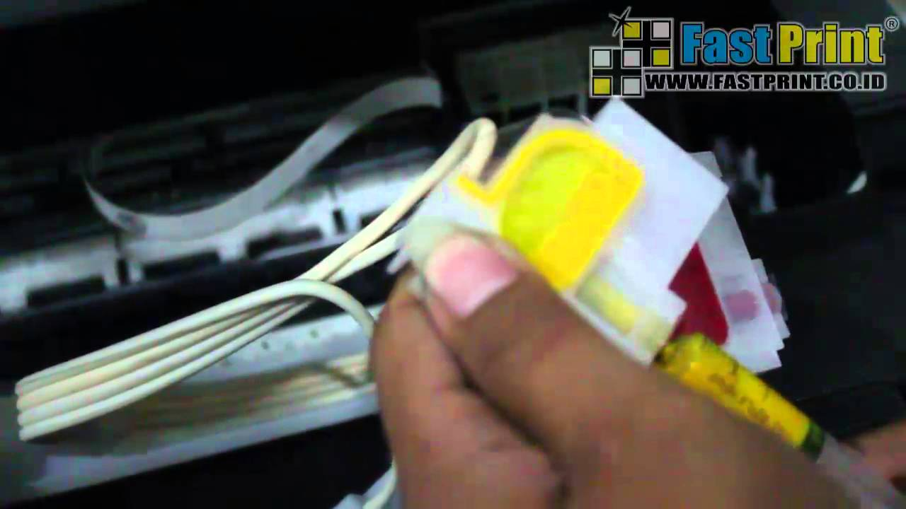 How To Remove The Ink Cartridge Cleaning The Printhead