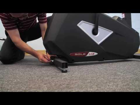 Sole Fitness LCB Upright Bike Installation Step 1/4