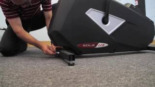Sole Fitness LCB Upright Bike Installation Step 1/4