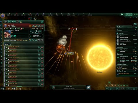 Mining Drone Cleanup Operations - Ironman Stellaris Stream Part 1 (Highlights) |