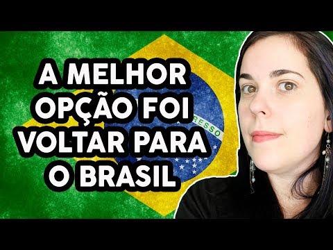 QUANDO A MELHOR OPÇÃO É VOLTAR PARA O BRASIL...