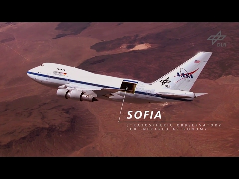 SOFIA – Stratospheric Observatory for Infrared Astronomy – German Aerospace Center – NASA