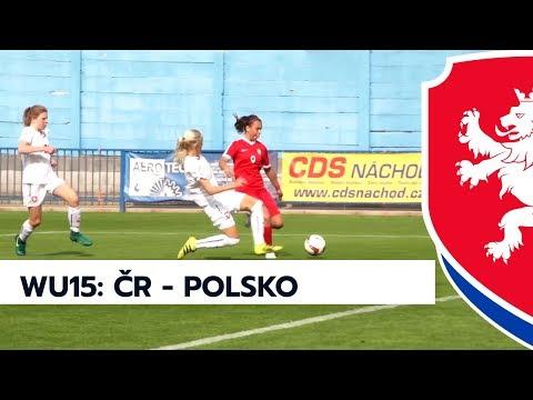 WU15: Česká republika - Polsko 1:1 (0:1)
