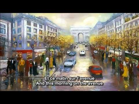 Les ChampsElysees  Joe Dassin  French and English subtitlesmp4
