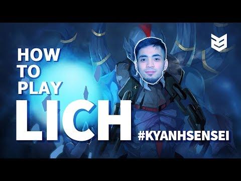 How to play Lich Dota2  |  Kỳ Anh Sensei EP.02