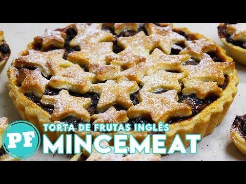 Torta de Frutas Inglesa (Mincemeat Pie) | Receitas Natal | PratoFundo