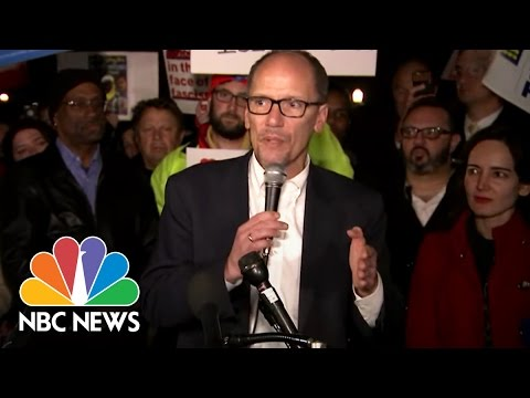 DNC Chair Tom Perez: New Travel Ban Is 'Unconstitutional' | NBC News