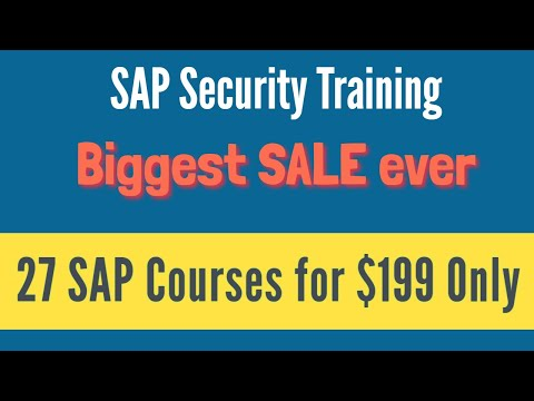 SAP Basis Training - Complete SAP Basis Course - Expert Level