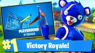 Fortnite-MODE PARQUINHO SAIUUUUUUUUUU! NEW SKINS TOMORROW? -Soils & Squads