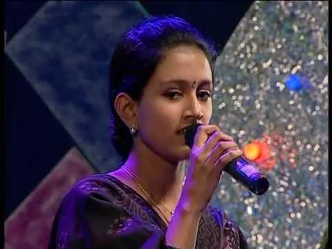 Kalyan Sarees Smart Singer Episode 54 ANJALI SUGUNAN ILAYARAJA ROUND Thamarakuruvikk
