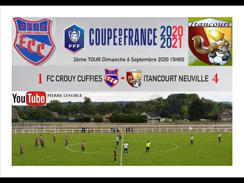 2ème Tour Coupe De France Football ECC ITANCOURT Pierre Lenoble Report