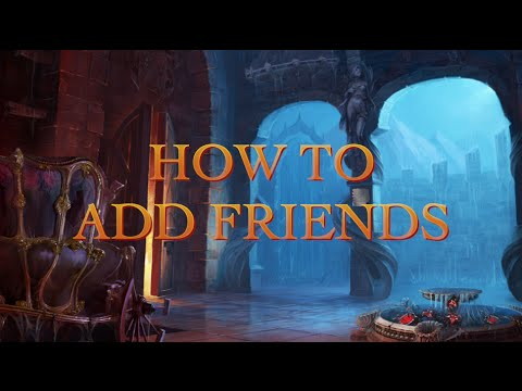How To Add Friends In Midnight Castle