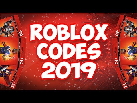 Codes for robux 2019