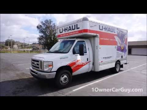Renting & Inspecting U Haul Video 15' Box Truck Rent Review