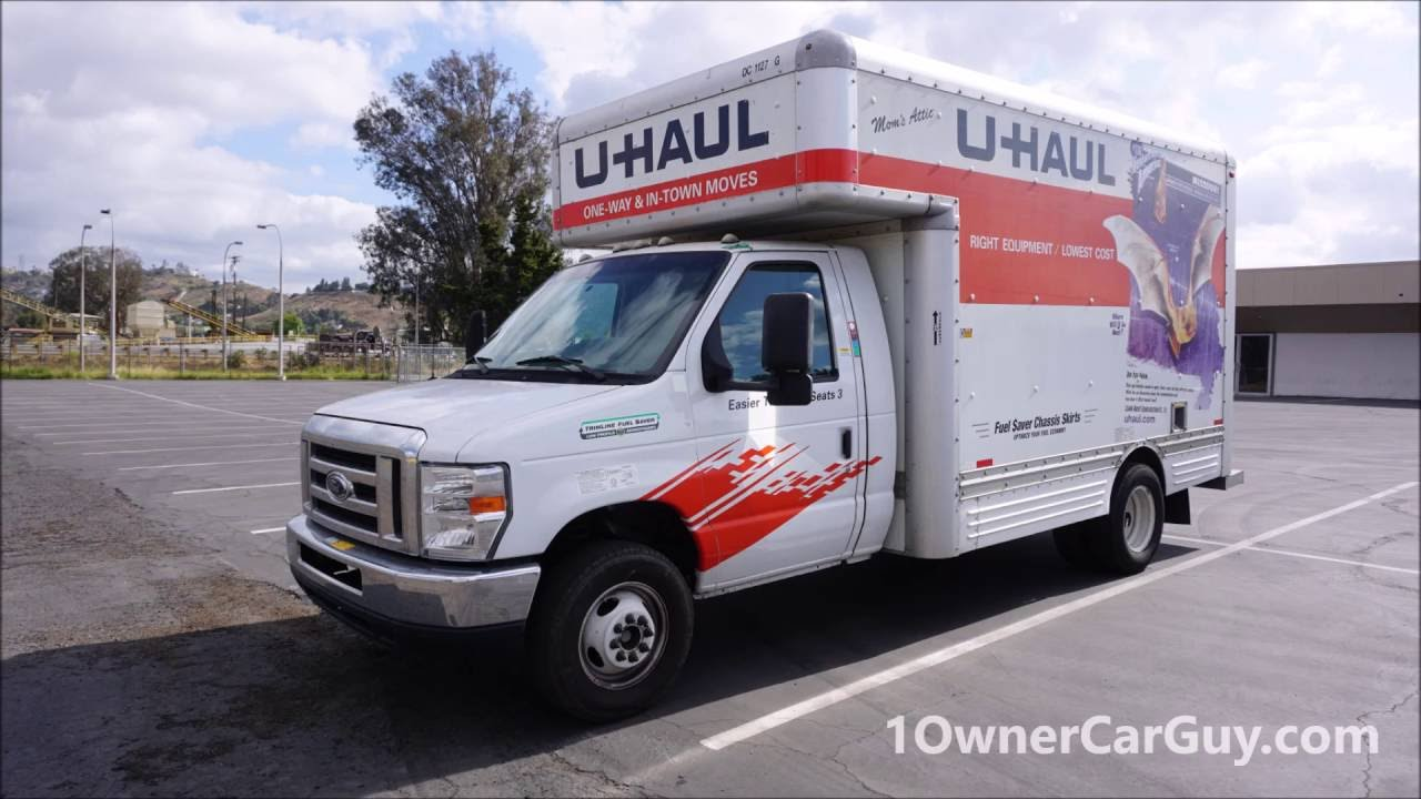 Truck For Rent >> Renting Inspecting U Haul Video 15 Box Truck Rent Review Youtube