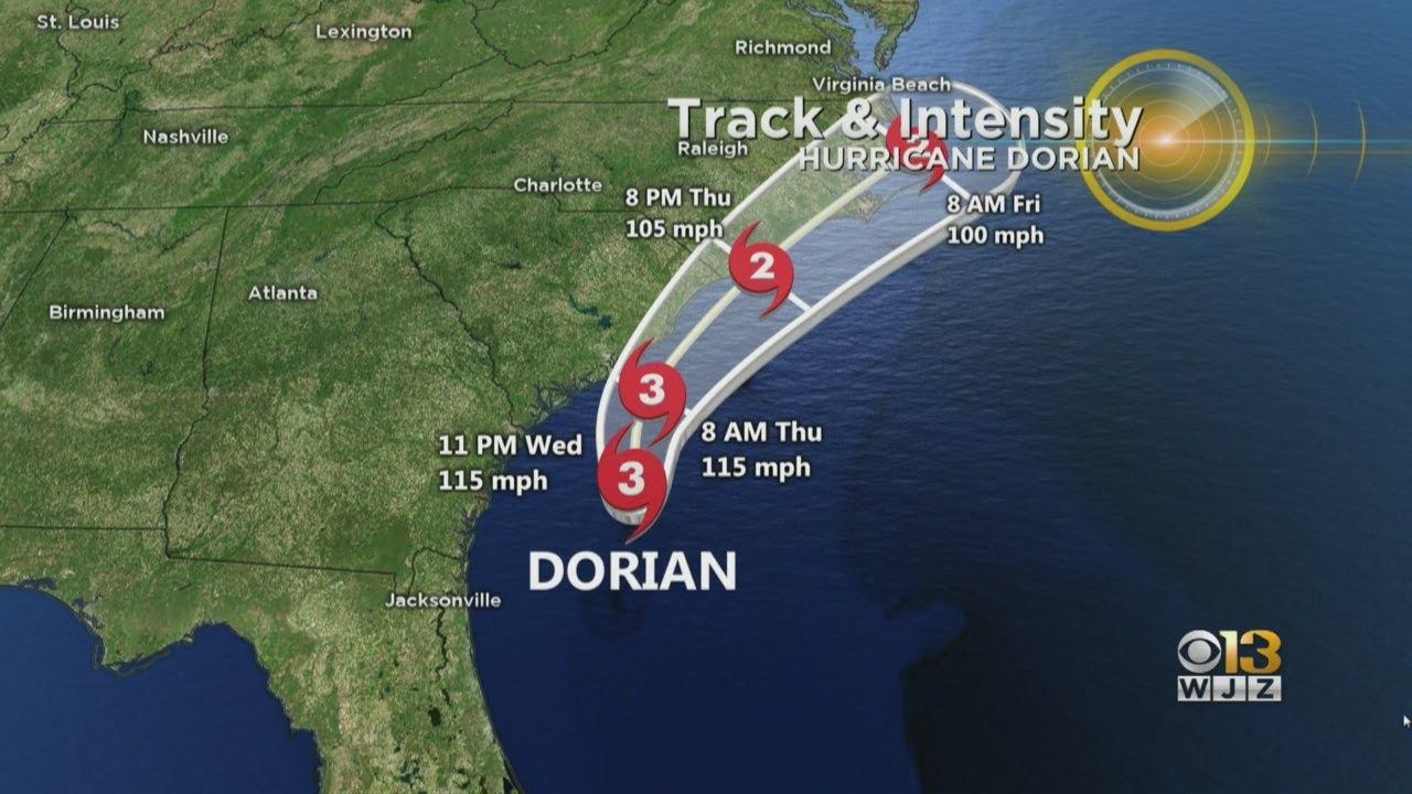 Bob Turk Is Tracking The Latest Radar From Hurricane Dorian
