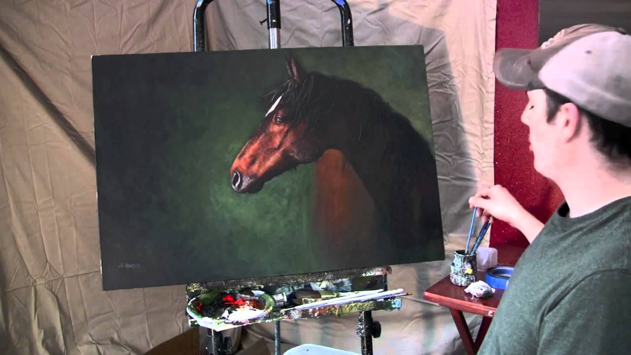 Tim Gagnon Painting Tips And Tricks Animal Hair And Fur