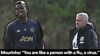 WHAT MOURINHO SAID TO POGBA AFTER SOUTHAMPTON: 'THE VIRUS'