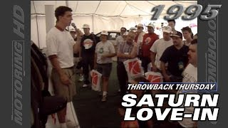Throwback Thursday: Saturn Love-In